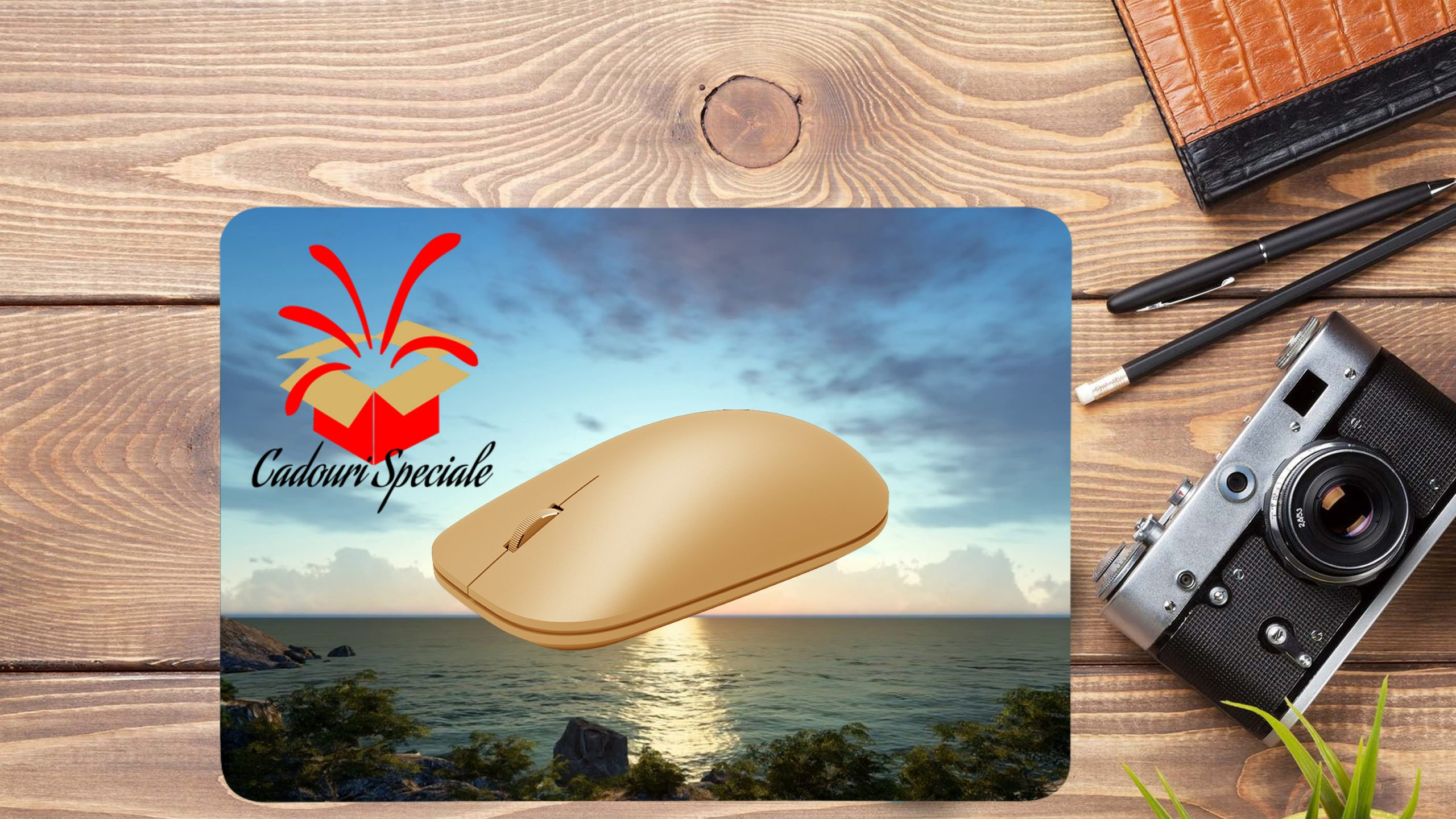 Mousepad personalizat background www.cadourispeciale.ro
