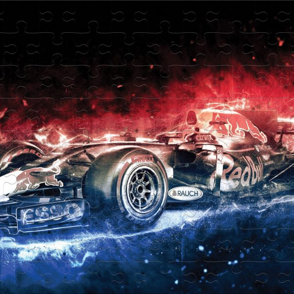 PUZZLE MASINA FORMULA 1 ABSTRACT CADOURI-SPECIALE