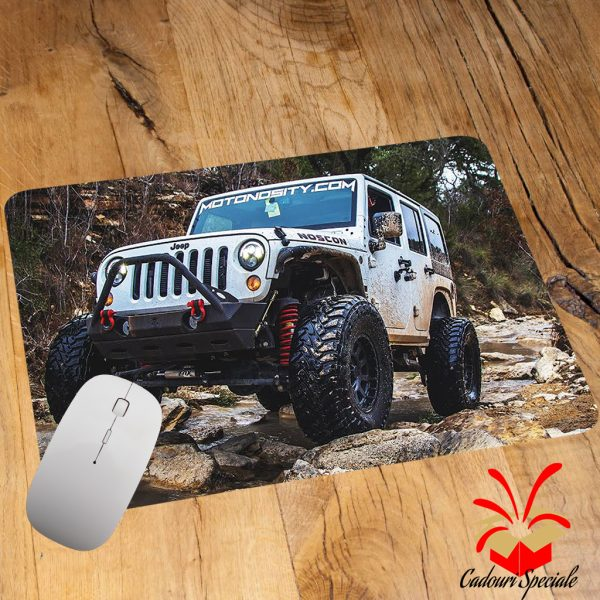 Mousepad personalizat Jeep Offroad cadouri-speciale